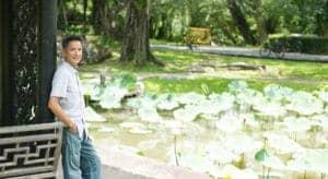 George Avelino at Rama IV Park